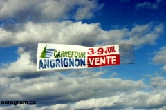 carrefour-angrignon-flying-banner-ad