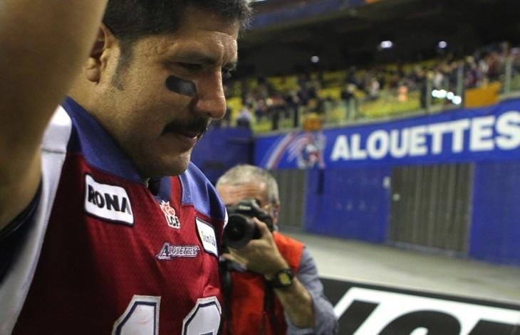 Les Alouettes de Montréal disent Merci Anthony avec AEROGRAM!