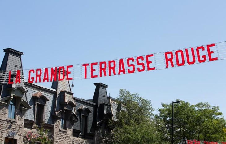 AEROGRAM contribue au Festival de la grande terrasse rouge!